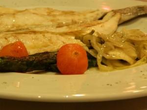 Filet de peixe com erva doce