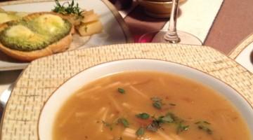 Sopa de cebolas