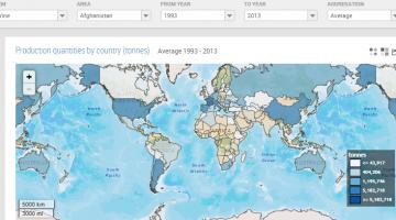 FAO - mapa