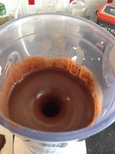 Bolo de chocolate massa