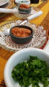 Pasta de pimentão com castanhas de caju I
