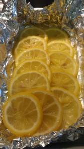 Limões para assar